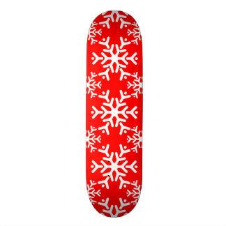 Snowflake 17 Red 20 Cm Skateboard Deck
