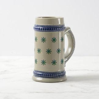 Snowflake 22 oz. Stein Mug