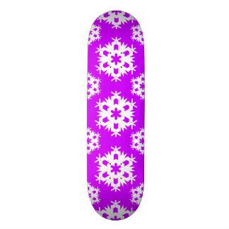 Snowflake 2 Purple Skateboard