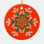 Snowflake 2 White Transp The MUSEUM Zazzle Gift...