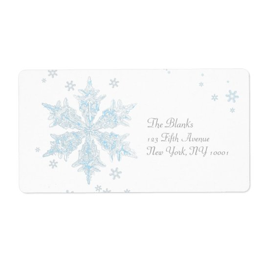 snowflake 3 label