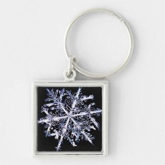 Snowflake 9 key ring
