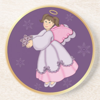 Snowflake Angel Coaster