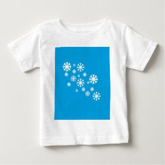 Snowflake Baby Tee Shirt