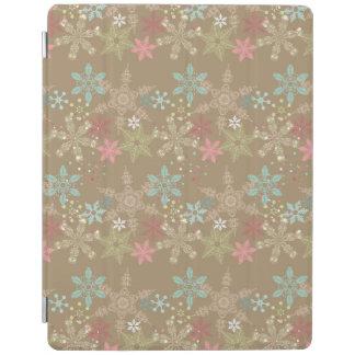 Snowflake Background iPad Cover