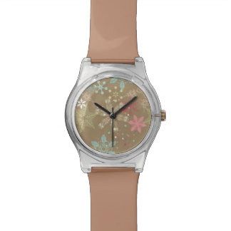 Snowflake Background Watch