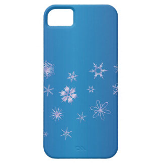 Snowflake Banner iPhone 5 Cover