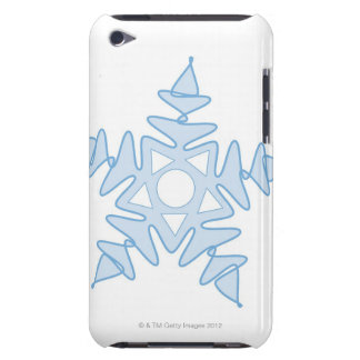 Snowflake Barely There iPod Cases