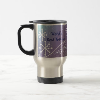 Snowflake - Best Teacher Travel Mug