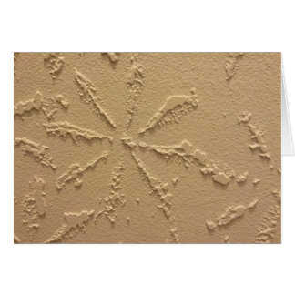 Snowflake Blank Note Card