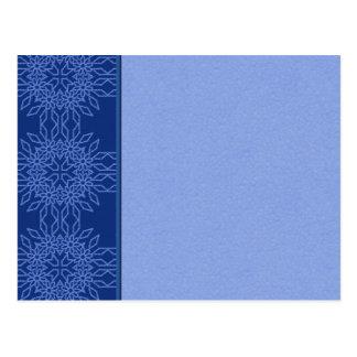 Snowflake Blank Postcard