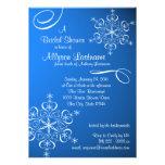 Snowflake Blue Bridal Shower