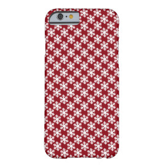 snowflake barely there iPhone 6 case