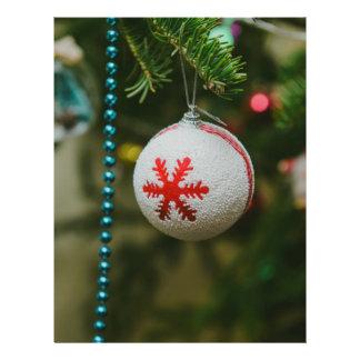 Snowflake Christmas bauble 21.5 Cm X 28 Cm Flyer
