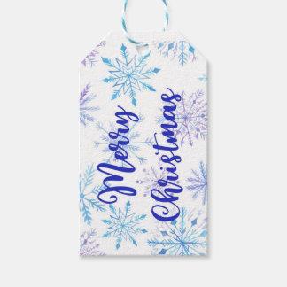 Snowflake Christmas Gift Tags | Merry Christmas