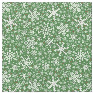 Snowflake Christmas | Holiday Fabric