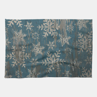 Snowflake Christmas Holiday Winter Kitchen Towel