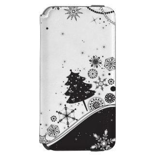 Snowflake Christmas Illustration Incipio Watson™ iPhone 6 Wallet Case