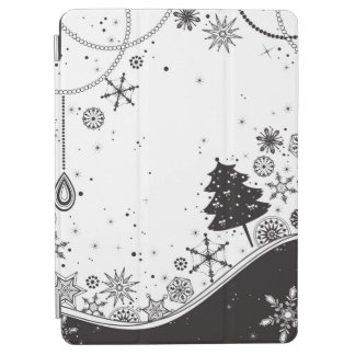 Snowflake Christmas Illustration iPad Air Cover