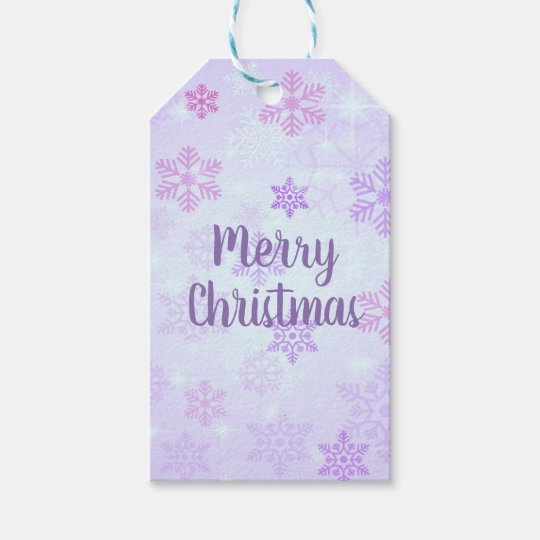 Snowflake Christmas Tags