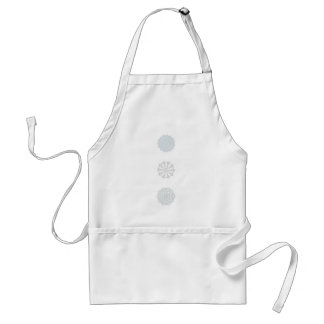 Snowflake  Collection Standard Apron