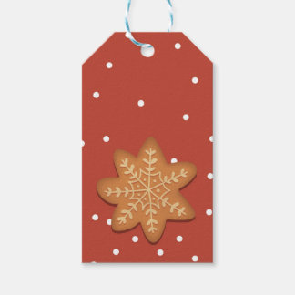 Snowflake Cookie Gift tag