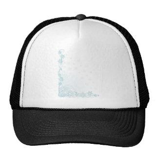 Snowflake Corner Mesh Hat