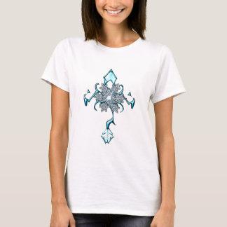 snowflake cross shirt