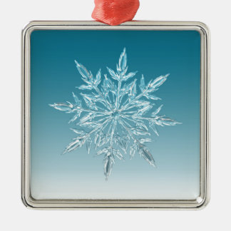 Snowflake Crystal Christmas Ornament