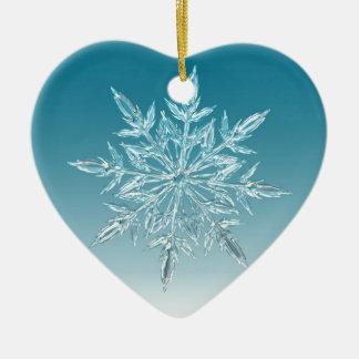 Snowflake Crystal Christmas Ornament