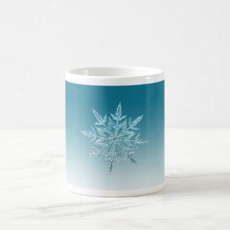 Snowflake Crystal Coffee Mug