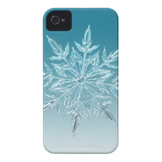 Snowflake Crystal iPhone 4 Case-Mate Cases