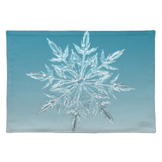 Snowflake Crystal Placemat