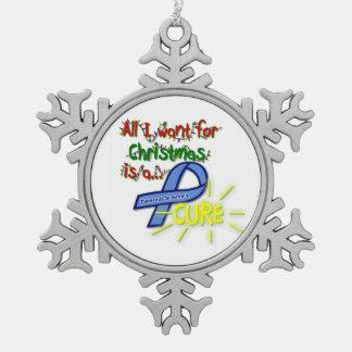 Snowflake Cure TSC Ornament