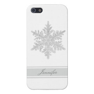 Snowflake Customizable iPhone 5/5S Cases