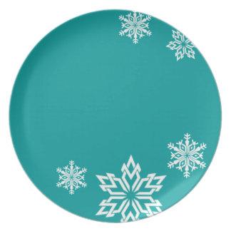 Snowflake Designer Plate