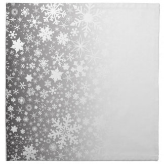Snowflake Fade Napkin