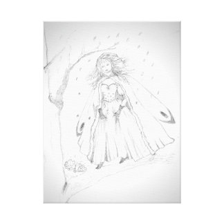 Snowflake Fairy Canvas