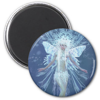 Snowflake fairy queen magnet