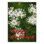 """""""Snowflake Flower"""" Holiday Card"""