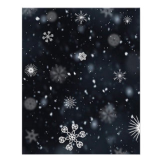 Snowflake Personalized Flyer