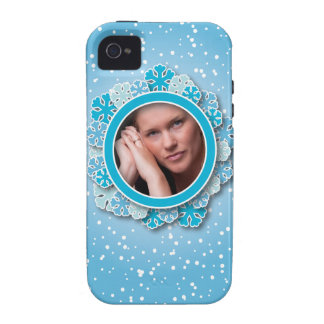 Snowflake frame iPhone 4/4S covers