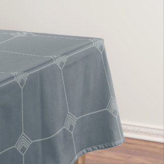 Snowflake Geo Jersey Knit Tablecloth
