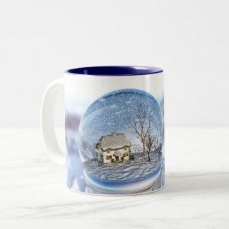 Snowflake Globe Mug