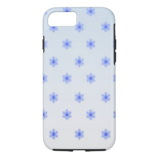 Snowflake Gradient Winter Phone Case