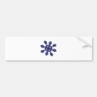Snowflake II Bumper Sticker