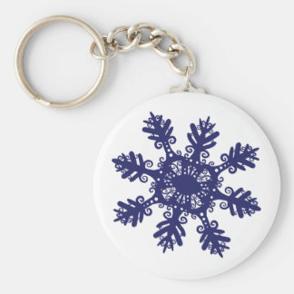 Snowflake II Key Ring