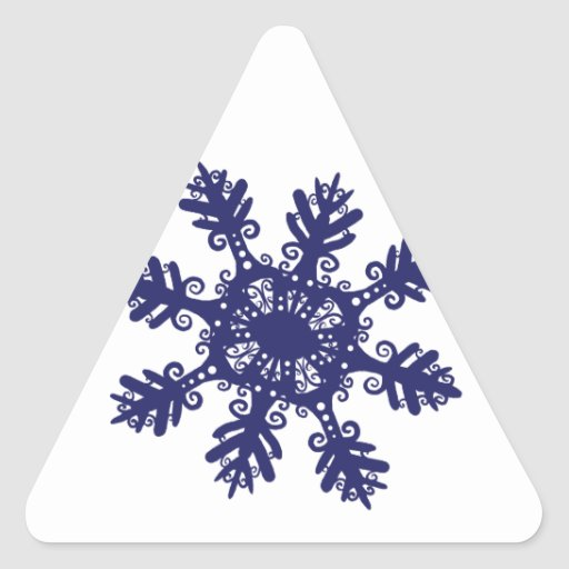 Snowflake II Stickers