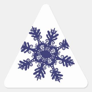 Snowflake II Stickers