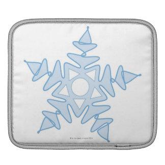 Snowflake iPad Sleeve